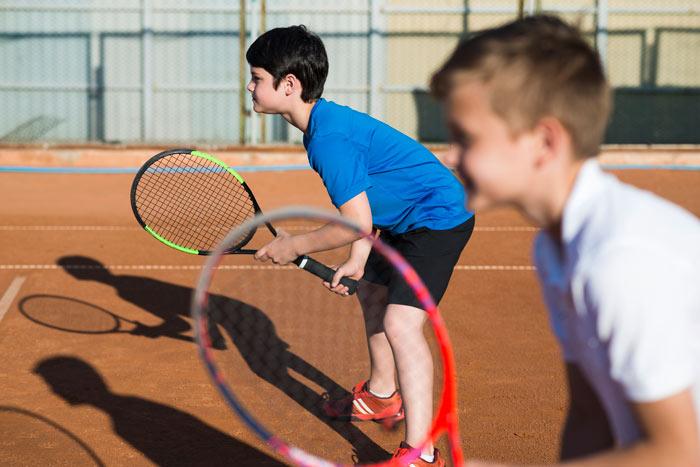 Clases de tenis en colegios
