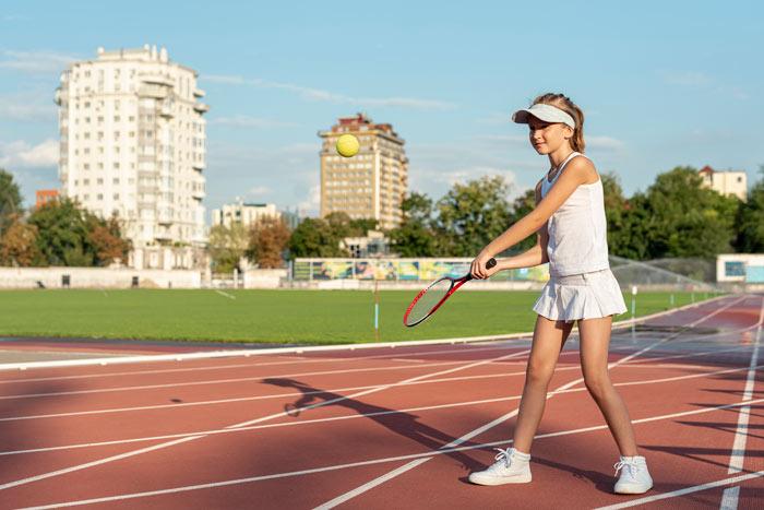 Clases de tenis para niños